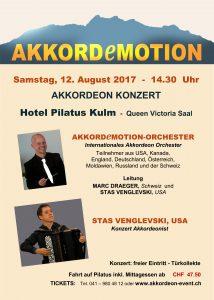 Vereinsausflug zum Schlusskonzert des Camp-Orchesters @ Pilatus, Schweiz