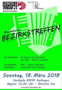 Musikalisches Bezirkstreffen DHV - Schwaben @ Festhalle Nellingen | Abtsgmünd | Baden-Württemberg | Deutschland