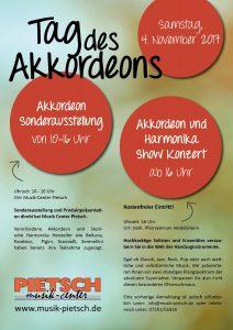 Tag des Akkordeons beim Musik-Center-Pietsch - Auftritt Jugend-Ensemble H.H.C. @ Musik-Center-Pietsch