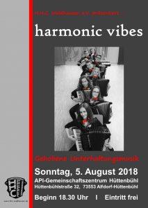 """Ensemble """"harmonic vibes"""" @ API-Gemeinschaftszentrum Hüttenbühl"""