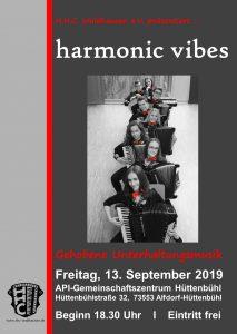 "Konzert Ensemble ""harmonic vibes"" @ API-Gemeinschaftszentrum Hüttenbühl"