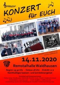 Konzert für Euch! @ Remstalhalle Waldhausen